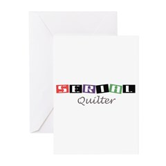 Serial Quilter Greeting Cards (Pk of 10)
