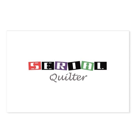 Serial Quilter Postcards (Package of 8)
