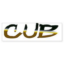 Cub Bumper Bumper Sticker
