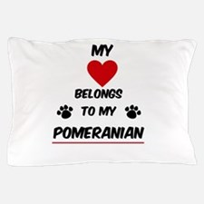 Pomeranian Pillow Case