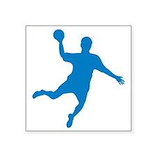 "handball Square Sticker 3"" x 3"""