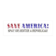 Save America Wall Decal
