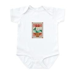 Flower Quilt Infant Bodysuit