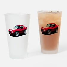 BabyAmericanMuscleCar_70Cam_Red Drinking Glass
