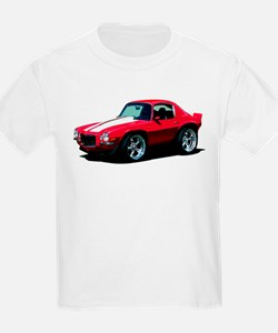 BabyAmericanMuscleCar_70Cam_Red T-Shirt