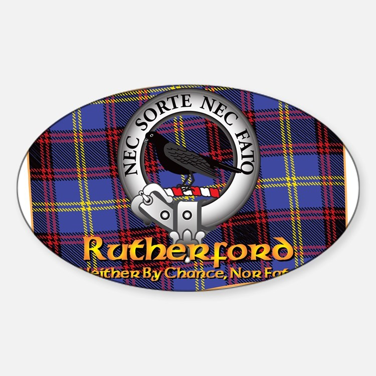 Rutherford Clan Decal