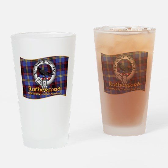 Rutherford Clan Drinking Glass