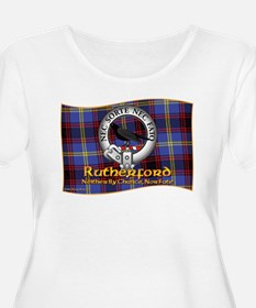 Rutherford Clan Plus Size T-Shirt