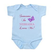 Nebraska State (Butterfly) Infant Bodysuit