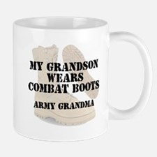 Army Grandma Grandson wears DCB Mugs
