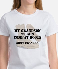 Army Grandma Grandson wears DCB T-Shirt
