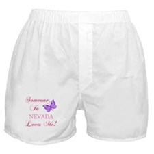 Nevada State (Butterfly) Boxer Shorts