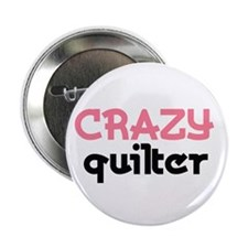 Crazy Quilter Button