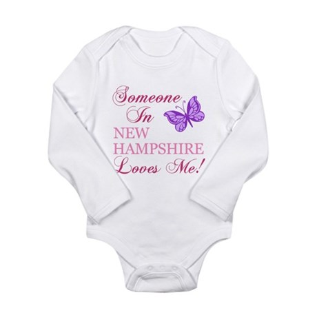 New Hampshire State (Butterfly) Long Sleeve Infant