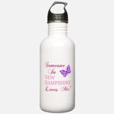 New Hampshire State (Butterfly) Water Bottle
