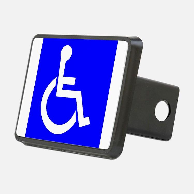 Handicap Sign Hitch Cover