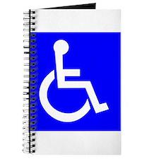 Handicap Sign Journal