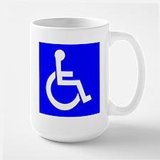 Handicap Sign Mugs