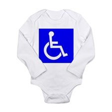 Handicap Sign Body Suit