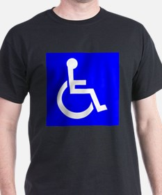 Handicap Sign T-Shirt