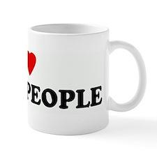 I Love BLACK PEOPLE Mug