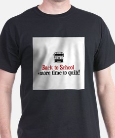 Back to School - Time to Quil T-Shirt