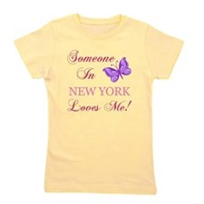 New York State (Butterfly) Girl's Tee
