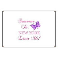 New York State (Butterfly) Banner
