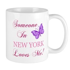 New York State (Butterfly) Mug