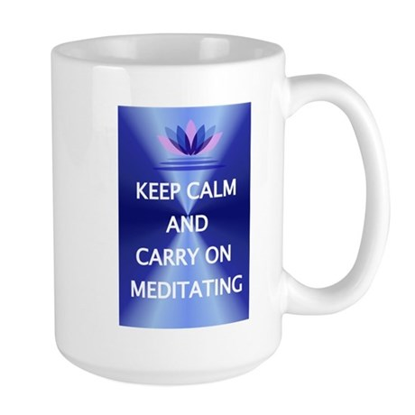 Carry on meditating Mugs