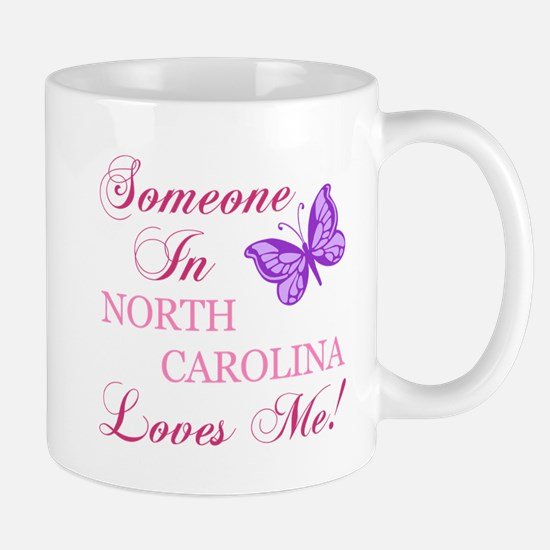 North Carolina State (Butterfly) Mug
