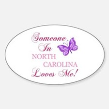 North Carolina State (Butterfly) Decal