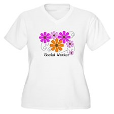 Social worker 3 Plus Size T-Shirt