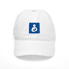 Breastfeeding Symbol Baseball Baseball Baseball Cap
