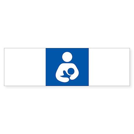 Breastfeeding Symbol Bumper Sticker