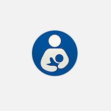 Breastfeeding Symbol Mini Button (10 pack)