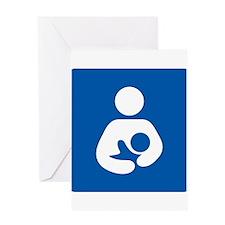 Breastfeeding Symbol Greeting Cards