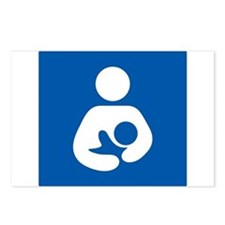 Breastfeeding Symbol Postcards (Package of 8)