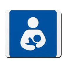 Breastfeeding Symbol Mousepad