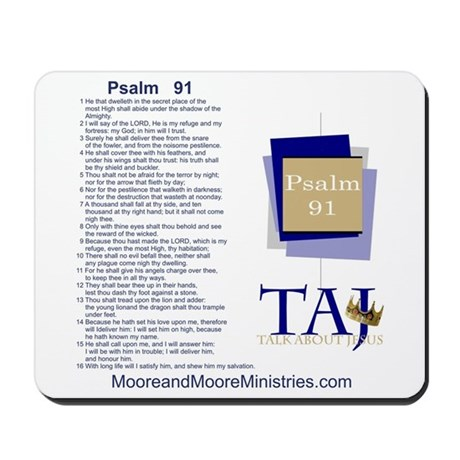 Psalm 91 Mousepad