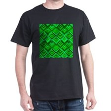shaped memory of the 60s green T-Shirt