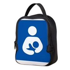 Breastfeeding Symbol Neoprene Lunch Bag