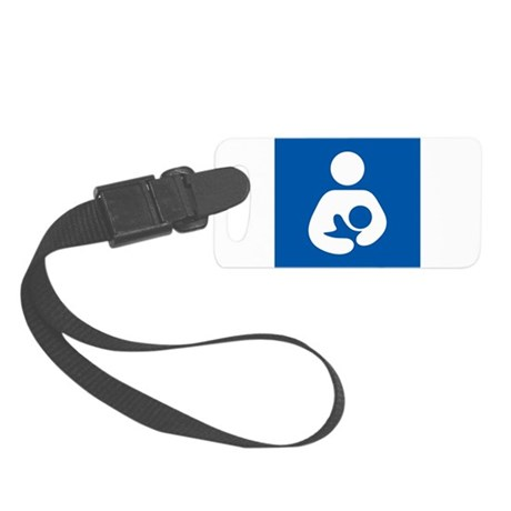 Breastfeeding Symbol Luggage Tag