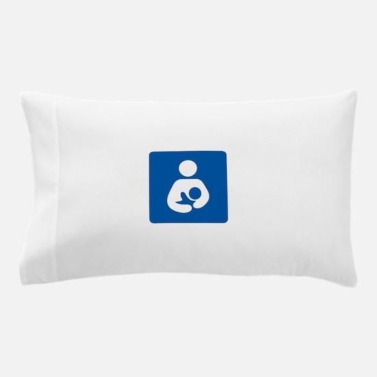 Breastfeeding Symbol Pillow Case