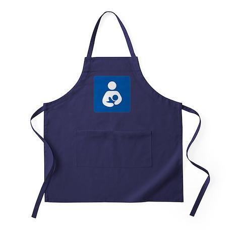 Breastfeeding Symbol Apron (dark)