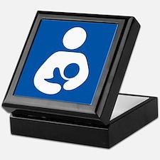 Breastfeeding Symbol Keepsake Box