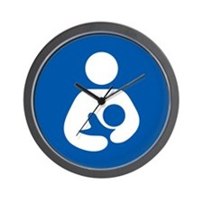 Breastfeeding Symbol Wall Clock