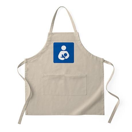 Breastfeeding Symbol Apron