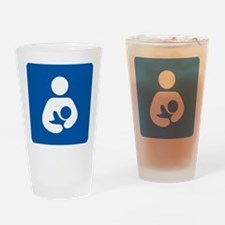 Breastfeeding Symbol Drinking Glass