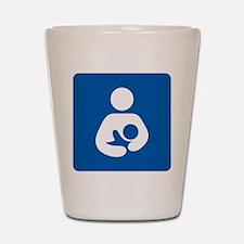 Breastfeeding Symbol Shot Glass